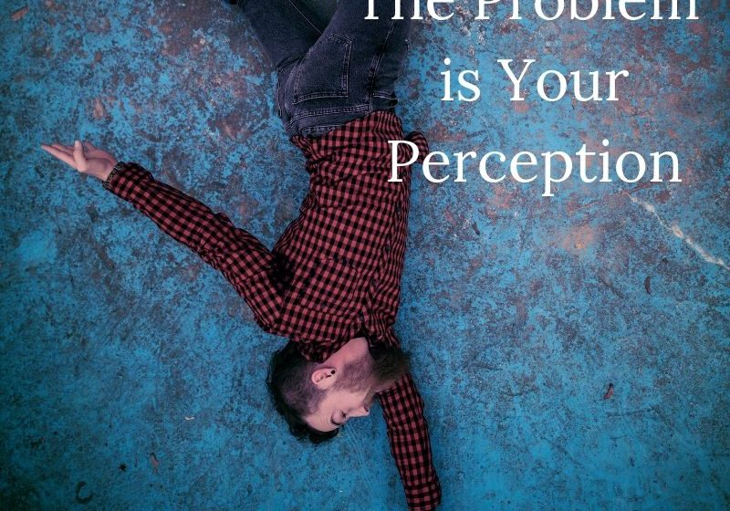 The Problem is Your Perception