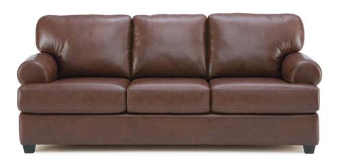 brown bakersfield leather couch