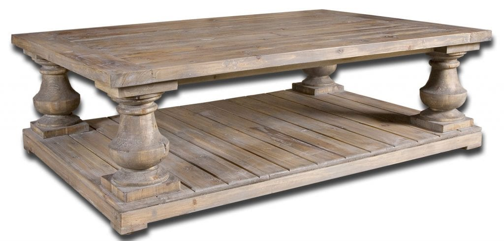 Canadel Living Room Wood Coffee Table