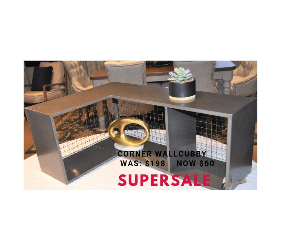 SuperSale Corner cubby